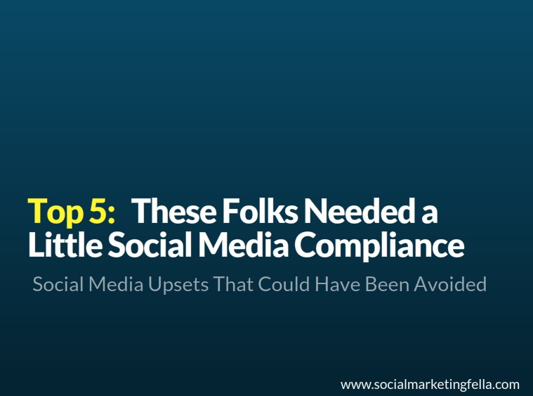 Social-media-compliance-mishaps